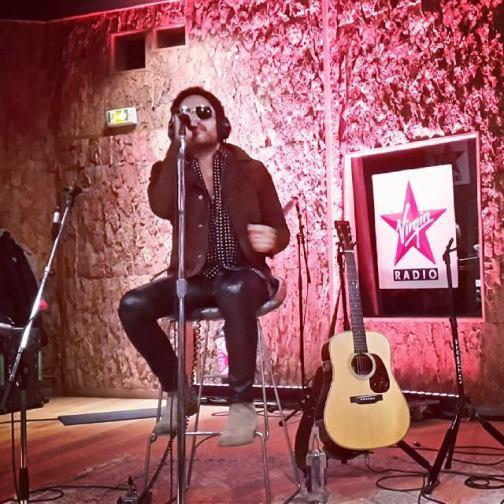 Lenny Kravitz en concert privé au studio de la Grande Armée / Crédit : Virgin Radio